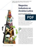 Negocios Inclusivos en America Latina