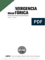 Revista Convergencia Historica CIHPSE