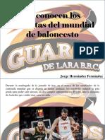 Jorge Hernández Fernández - Se Conocen Los Finalistas Del Mundial de Baloncesto
