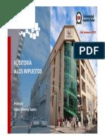 Auditoria en Impuestos UNAB - Unidad VII.pdf
