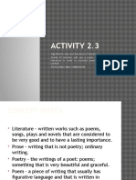Significant Roles and Functions of Literature