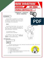 FICHAS RAZONAMIENTO VERBAL