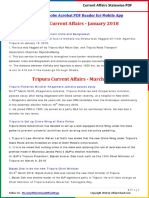 Tripura Current Affairs 2018 by AffairsCloud.pdf