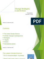 EU Climate Change Strategies, Targets and Actions