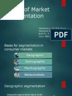 Types of Segmentation
