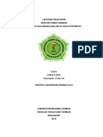 Laporan Lengkap Analisis Farmasi Analgetik,,