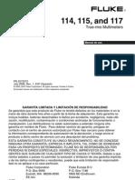 Manual Fluke 114-115-117