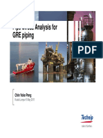 stress analysis of gre piping