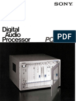Sony - PCM-1610 - Professional Digital Audio Processor