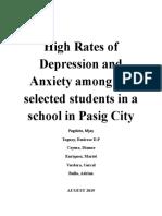Depression Andanxiety (Unlocked)
