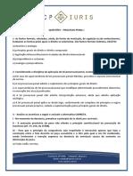 Cp Iuris - Processo Penal i