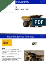 OPERACION DE CAMION CATERPILLAR 785C.ppt