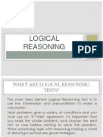Logic reasoning for afpsat exam reviewer