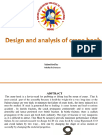 Design and analysis for crane hook.pptx