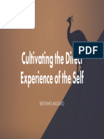 Bentinho Massaro - Cultivating the Direct Experience of the Self