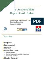 Dallas Code Report Card Explanation II