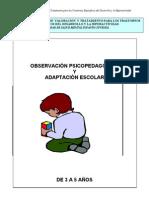 OBSERVACI+ôN PSICOPEDAG+ôGICA