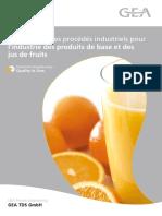 CG Technologie Des Procédés Industriels Pour Les Jus de Fruit GIA
