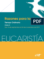 Eucaristía 15 Sep Al 24 Nov 2019 (D)