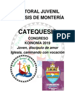 CATEQUESIS CONGRESO 2019
