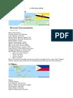 10 Negara ASEAN Dan Keterangannya