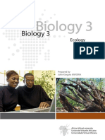Ecology and Biology Modules Lectures