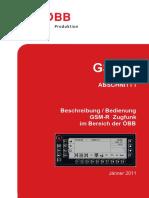 GSMR Handbuch