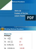 HOLT 2-5 Dividing Rational Numbers.ppt