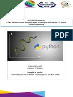 Python Nst p 2019