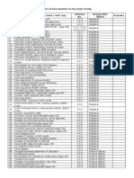 List of Documents to Be Kept Ready SSR Criterion I to IV 14-09-2019