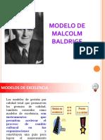 Modelo - Malcolm Baldrige