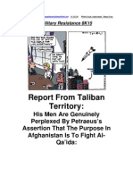 Military Resistance 8K15 Report From Taliban Territory[1]