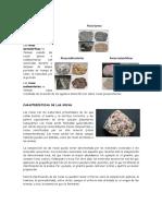 Clases de Rocas Imprimir