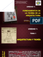 1ra. Unidad Fundament de La Teoría de La Arquit Calch