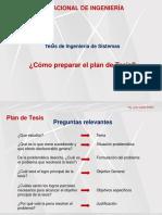 UNI PTS 2019 1 Esquema de Plan de Tesis