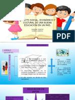 Impacto Social, Económico y Cultural Educacion.