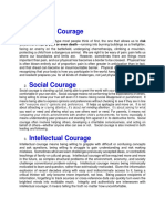 Types of Courage