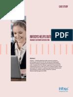 Infosys Enhance Customer Satisfaction
