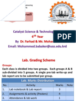 Introduction of Catalyst مقدمة