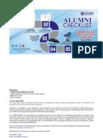 Alumni Checklist