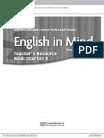 English in Mind2 Starter a and b Beginner Combo Teachers Resource Book Frontmatter