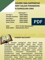 KEL. 7 KONSEP RECOVERY DAN SUPPORTIVE ENVIRONMENT DALAM PERAWATAN KLIEN.ppt