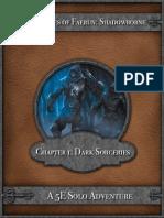 5E Solo Gamebooks - Dark Sorceries
