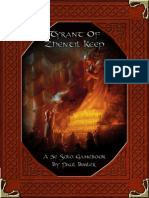 5E Solo Gamebooks - Tyrant of Zhentil Keep - Adventure Booklet