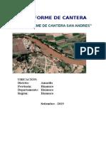 INFORME DE CANTERA CAMINOS 2.doc
