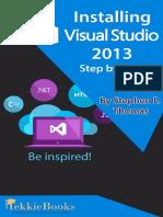 Installing Visual Studio 2013 Step By Step - Stephen Thomas.pdf