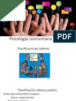 Psicología comunitaria aplicada