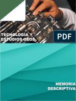 Memoria Descriptiva Laboratorio, TEGEOS.