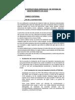 Evaluación de Estructuras Especiales (Caseta de Bonbeo) Descripcion-especificaciones Tecnicas