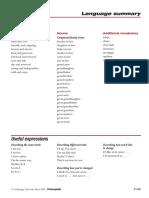 Passages2e - Language Summaries